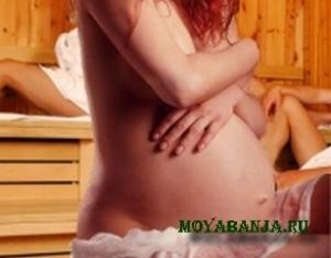 Поход в баню при беременности