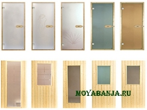 Двери для саун и бань