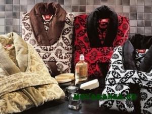 Выбираем халат для бани