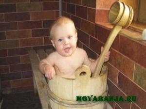 Как подготовить ребёнка к горячим процедурам во время посещения бани?