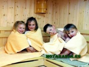 Баня – профилактика детских заболеваний