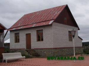 Баня из кирпича: основы строительства