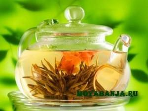 Чай в бане: черный, зеленый и травяной