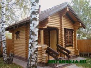 Чем же хороша деревянная баня?