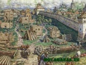 Русская баня при Петре I