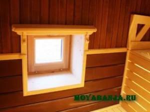 Какие окна для бани лучше – деревянные или пластиковые?