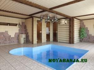 Баня, сауна с бассейном