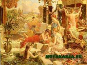 История и обычаи терм в Римской империи