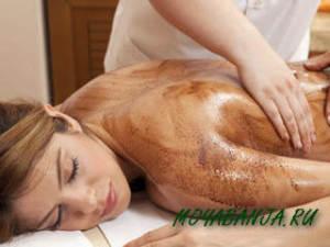 Пилинг тела в бане