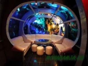 баня в космосе