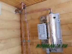 Варианты отопления в бане – технологии, оборудование (продолжение2)