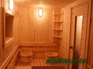 Внутренняя планировка бани: популярные варианты